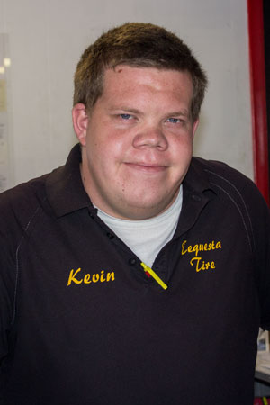 Kevin, Service Writer & Tire Specialist